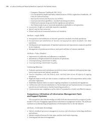 Railroad Resume Examples by Chapter 4 Workforce Competency Models A Guide To Building And
