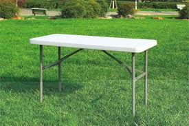 4ft square folding table 4ft rectangular folding table