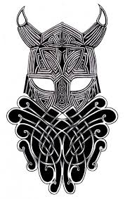 viking helmet tattoo design by hans frank on deviantart