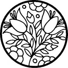 get this printable stained glass coloring pages online 91296