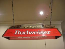 budweiser pool table light with horses budweiser pool table light parts table designs