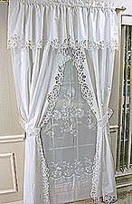 Lace Valance Curtains Battenburg Lace Windows Curtains