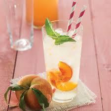 ginger peach soda recipe epicurious com