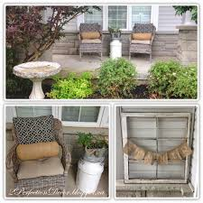 Summer Porch Decor by 2perfection Decor Summer Porch Love Of Galvanized Steel U0026 Burlap