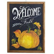 pier 1 home decor welcome fall chalkboard wall decor pier 1 imports fall