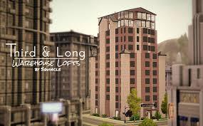 industrial apartments mod the sims third u0026 long warehouse lofts