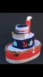 nautical diaper cake unique diaper cakes diaper cake boy