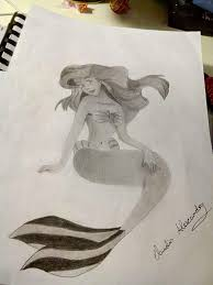 mermaid drawing disney amino