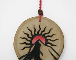 sun ornament etsy