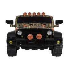 jeep modified classic 4x4 dynacraft surge 12v battery powered jeep walmart com