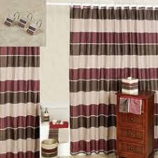 Burgundy Bathroom Accessories by Shower Curtain Rod Brackets Shower Curtain Pinterest Curtain