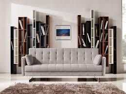 Beige Fabric Sofa Divani Casa Tejon Modern Beige Fabric Sofa Bed
