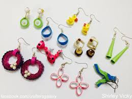 quiling earrings shirley kids quilled earring