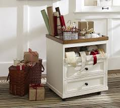 gift wrap cart wrapping paper cart pottery barn