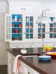 how to choose kitchen cabinets color add a pop of color inside your kitchen cabinets bkc