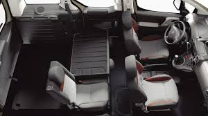 peugeot tepee interior peugeot partner tepee photos and videos of the 7 seater van by