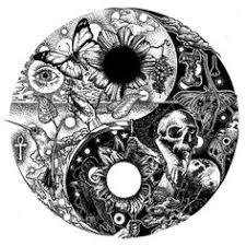 sun and moon yin yang symbol