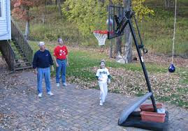 Best Backyard Basketball Court by Backyard Basketball Court Dimensions Simple Landscaping Design