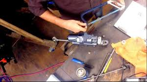 installing a power trim tilt unit in an outboard motor youtube