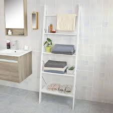 Bathroom Ladder Shelves Beautiful And Affordable Ladder Shelf Ideas For Every Room
