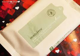 innisfree makeup removing tissue wipes review india loreal paris gentle eye remover neutrogena