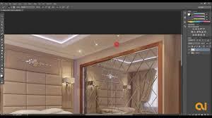 interior lighting design interior light effect photoshop tutorial youtube