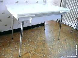 table cuisine vintage table de cuisine en formica table pliante en formica par