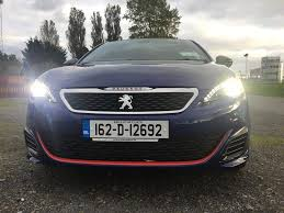 peugeot 308 gti white fleetcar ie reviewed peugeot 308 gti fleetcar ie