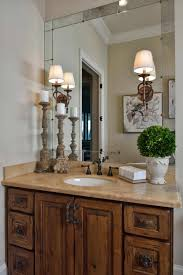 tuscan bathroom ideas traditional style feel antiqued mirror travertine tuscan