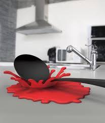 accessoires de cuisine design ustensiles de cuisine design éclaboussure splash ideecadeau fr