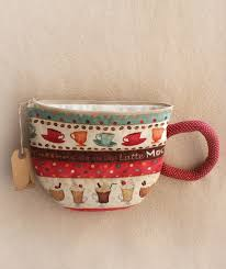 Diy Kit by Diy Kit And Pattern Cup Of Tea Cofee Cotton Fabric Primitive