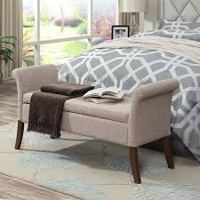 End Of Bed Seating Bench - storage benches
