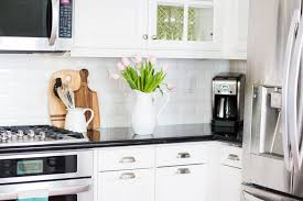 kitchen simple what to display in glass kitchen cabinets room