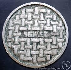 diy 1 manhole cover the scrap shoppe