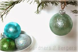 Homemade Christmas Tree Decorations Dough Homemade Glitter Covered Ornaments Handmade Ornament No 21