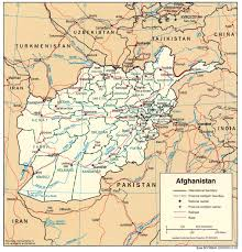 Political Map Of Southwest Asia by Maps Of Afghanistan Map Library Maps Of The World