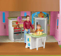 fisher price loving family dollhouse kitchen dollhouses amazon