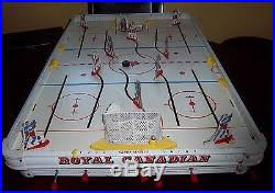 Table Top Hockey Game Royal Canadian Hockey Game 1960 U0027s Table Top Hockey