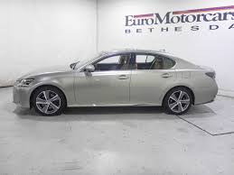 lexus gs 450h used 2016 used lexus gs 450h 4dr sedan hybrid at euromotorcars inc