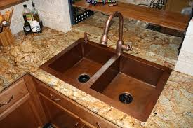 Kitchen Sink Copper Copper Sinks A Faucet Finish For Your Copper Sink