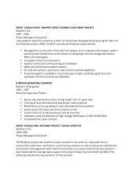 Industrial Electrician Resume Sample by Garry Resume Red Seal Industrial Electrician