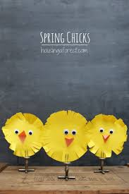 Handmade Decorations For Easter by Simple Easter Chicks An Easy Easter Craft For Kids Housing A