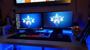 battle station definition pc room setup home decor gaming ps4 good