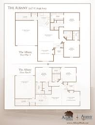 floor plans albany woods
