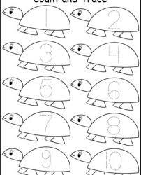 worksheets free coloring preschool kindergarten writing sheets