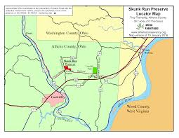 Map Of Athens Ohio by Skunk Run Preserve U2013 The Athens Conservancy