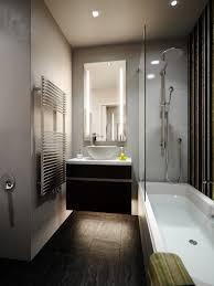 bathroom the single bowl sink on wood floating vanity plus glass