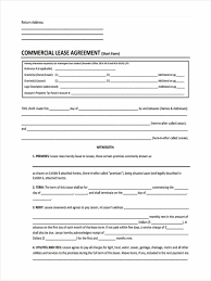 Commercial Lease Termination Agreement 29 Free Lease Form