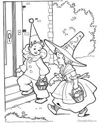 fun spooky halloween coloring pages costumes family holiday