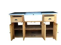 maison du monde meuble cuisine meuble cuisine zinc meuble 2 vasques provence zinc meuble cuisine